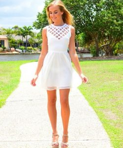 White Sundress for Juniors