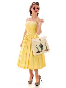 Yellow Cotton Sundress