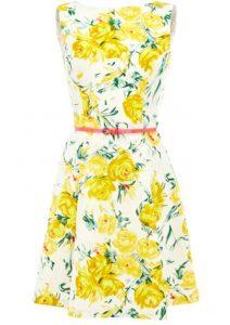 Yellow Floral Sundress