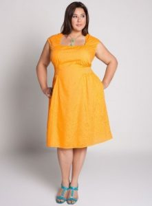 Yellow Sundress Plus Size