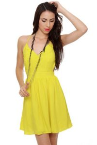 Yellow Sundress for Juniors