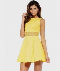 Yellow Sundress for Juniors