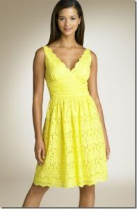 Yellow Sundresses
