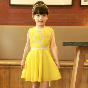 Yellow Sundresses for Girls