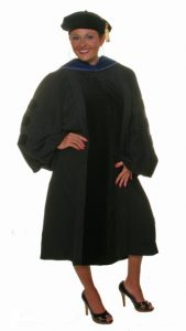 Doctorate Graduation Gown